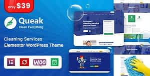 Queak – Cleaning Services WordPress Theme