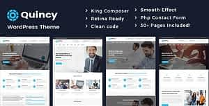 Quincy – Business Consulting WordPress Theme