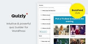 Quizly – Intuitive & Powerful Quiz Plugin for WordPress
