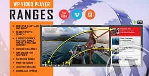RANGES – Video Player With Multiple Start and End Points – WordPress Plugin