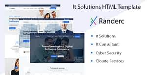 Randerc – It solutions and services company HTML template