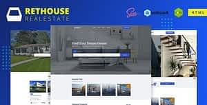 Rethouse – Real Estate HTML Template
