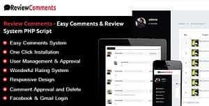 Review Comments – Easy Comments & Review System PHP Script
