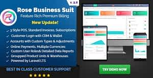 Rose Business Suite – Accounting, CRM and POS Software