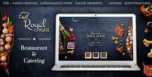 Royal Plate – Restaurant and Catering HTML Template