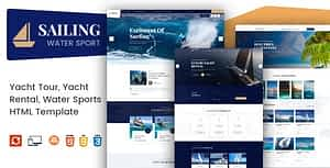 Sailing – Yacht and Boat Rental HTML Template