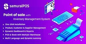 Samurai POS – Point of Sale & Inventory Management System