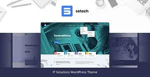 Setech – IT Services and Solutions WordPress Theme