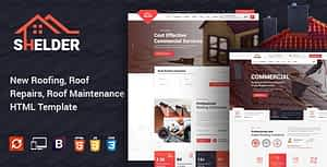 Shelder – Roofing Services HTML Template
