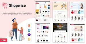 Shopwise – eCommerce Bootstrap 4 HTML Template