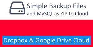 Simple Backup Files and mySQL using PHP – PHP Script