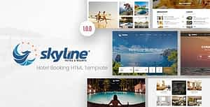SkyLine – Hotel Booking HTML Template