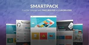 SmartPack – HTML Template With Page Builder