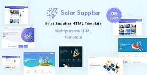 Solar Supplier – Responsive HTML Template