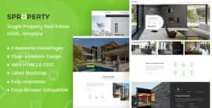 Sproperty – Single Property HTML Template