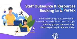 Staff Outsourcing & Resources Booking for Perfex CRM