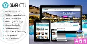 Starhotel – Hotel WordPress Theme