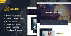 Stilbro – Metal and Steelworks Company HTML template