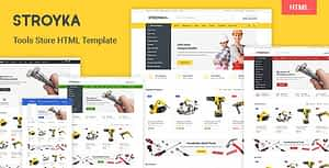 Stroyka – Tools Store HTML Template