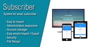 Subscriber – Most Advanced E-Mail Newsletter