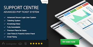 Support Centre – Advanced PHP Ticket System