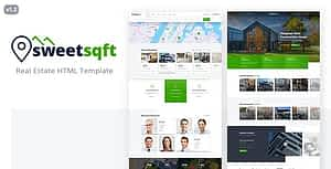Sweetsqft – Real Estate HTML Template