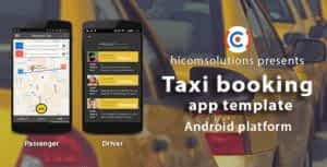 Taxi booking Android App Template
