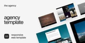 The Agency – Responsive Business HTML Template