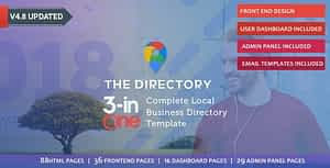The Directory & Listing HTML Template