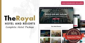 The Royal – Hotel Booking HTML Template