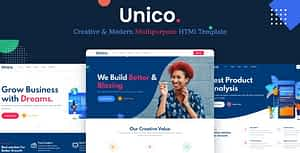 Unico – Multipurpose HTML Template