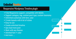 Unlimited Timeline Responsive WordPress plugin