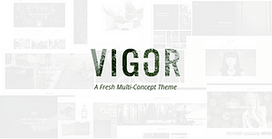 Vigor – Vintage WordPress Theme