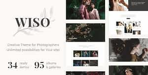 WISO – Photography HTML Template