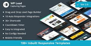 WP Lead Capturing Pages – WordPress Plugin