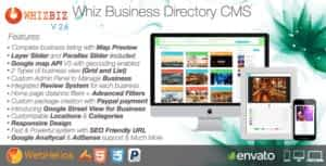 WhizBiz – Business Directory CMS