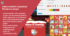 Xmas Advent Calendar – WordPress Plugin