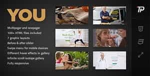You – Personal HTML Template