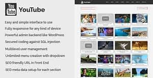 YouTube – YouTube Video Collection CMS