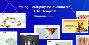 Young – Multipurpose eCommerce HTML Template