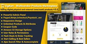 ZigKart – Multivendor Products Marketplace