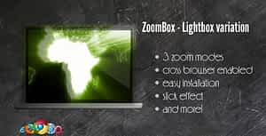 ZoomBox Lightbox Variation – jQuery powered