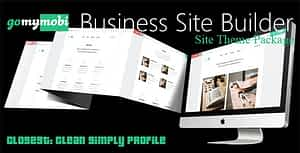 gomymobiBSB's Site Theme: Closest – Clean Simply Profile