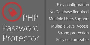 php Password Protector – PHP Login System