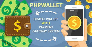 phpWallet – e-wallet and online payment gateway system.