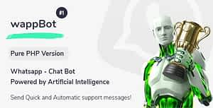 wappBot – Chat Bot Powered by Artificial Intelligence #1 [PHP Version]