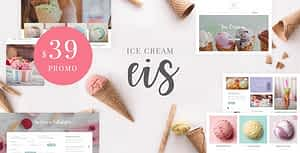 Eis – Ice Cream Shop WordPress Theme