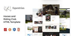 Equestrian – Horses and Riding Club HTML Template