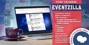 EventZilla – Event Calendar – Addon For WPBakery Page Builder (formerly Visual Composer)
