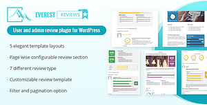 Everest Review – Post / Page / Custom post type Review plugin for WordPress by User and admin